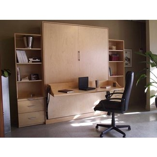 Bloombety : Murphy Beds With Desk And Bookcase Murphy Beds