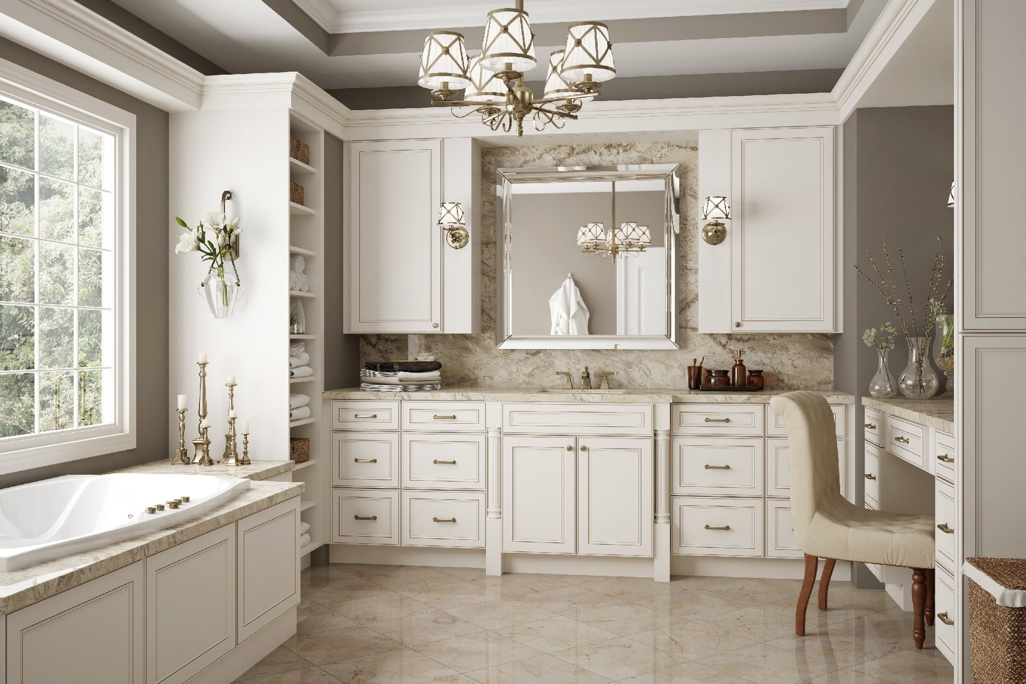 Brantley Antique White Glaze - Ready To Assemble Kitchen .  sc 1 st  Visual Hunt & Antique White Kitchen Cabinets - Visual Hunt
