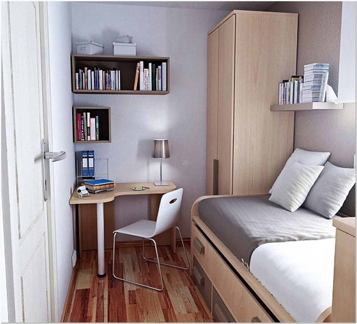 Brighten The Small Bedroom Ideas 02 | Tiny Bedrooms .