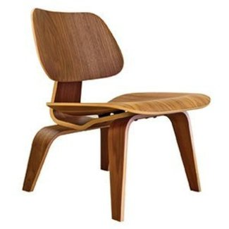 Building Green in Vermont: Eames plywood lounge chair