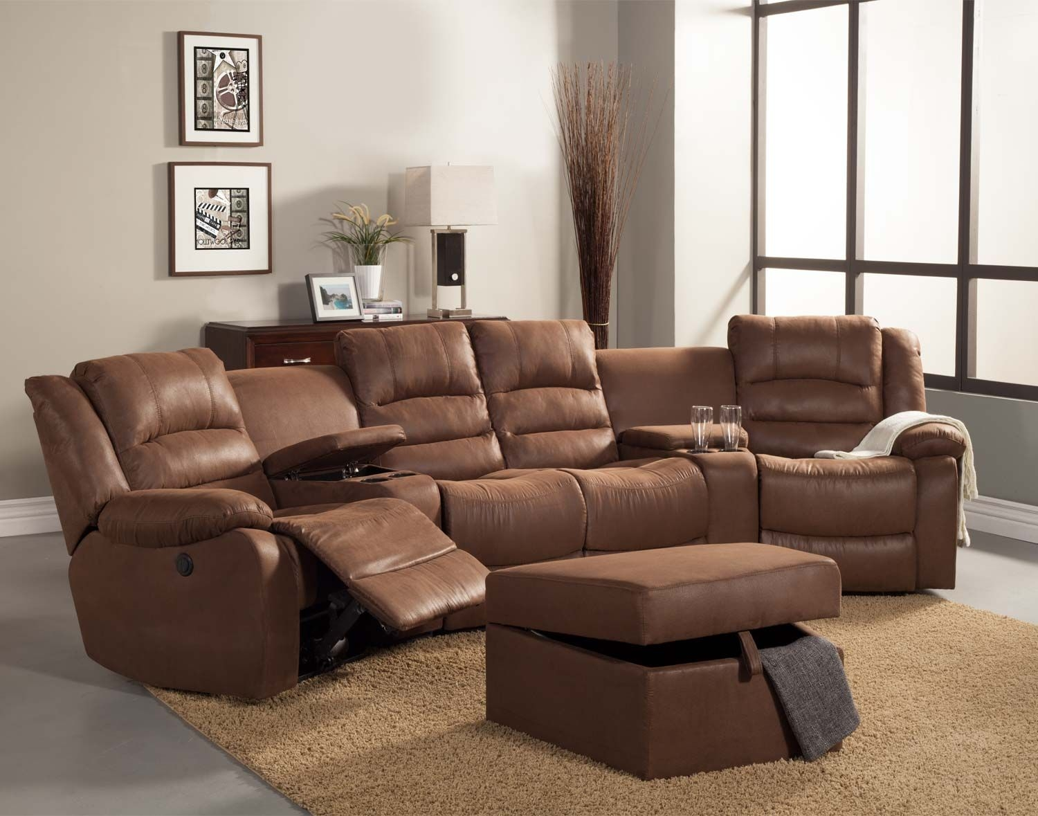 Superieur Buy Small Sofa Online: Small Reclining Sofa
