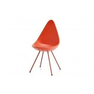 Buy the Fritz Hansen Drop Chair Plastic at
