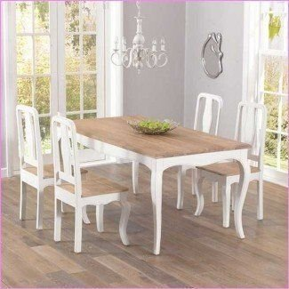 Captivating Shabby Chic Dining Table And Chairs Shab Chic ...