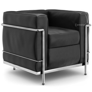 Cassina LC2 Armchair by Le Corbusier, Pierre Jeanneret ...