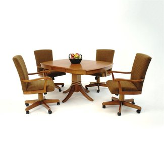 Casual Dining Chairs With Casters