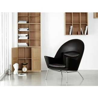 CH468 Oculus Chair Leather