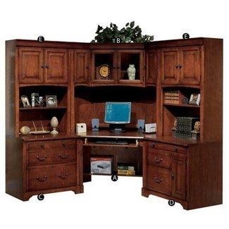 cheap corner desk with hutch | decor | Pinterest |