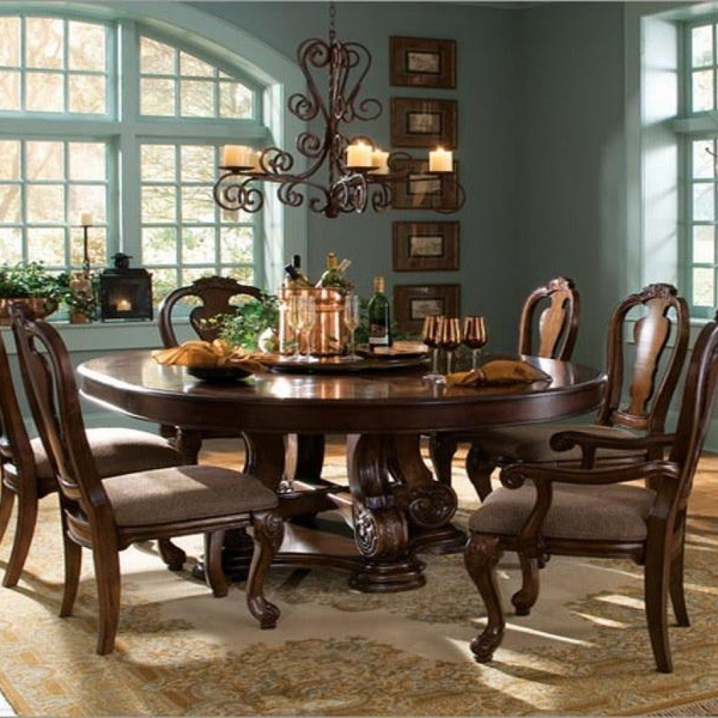 Round Dining Table For 6 You Ll Love In, 6 Person Dining Room Table Sets
