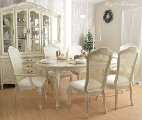 50 Shabby Chic Dining Table You Ll Love In 2020 Visual Hunt