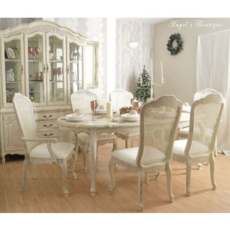 Christmas Unique French Shabby Chic Dining Table