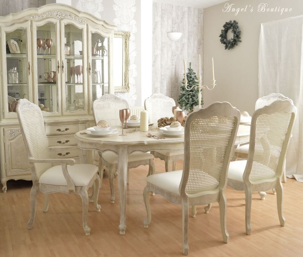 CHRISTMAS SALE *** Unique French Shabby Chic Dining Table .