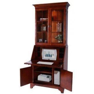 Clarksville Secretary Desk with Hutch