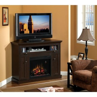 Classic Flame Windsor Corner Electric Fireplace and TV ...