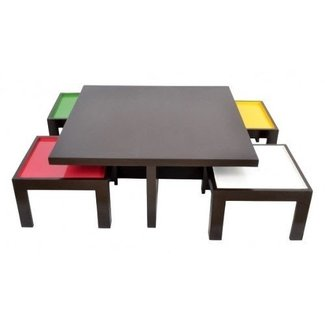Coffee Table: Coffee Table With Stools Coffee Table With ...