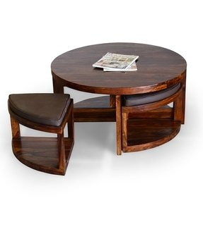 50 Coffee Table With Stools You Ll