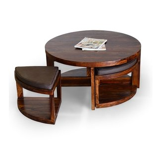 50 Coffee Table With Stools You Ll Love In 2020 Visual Hunt