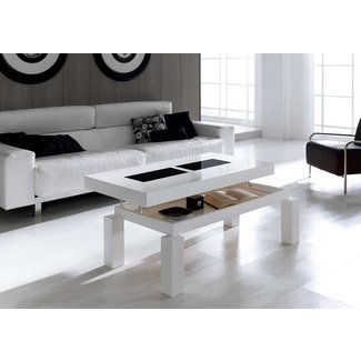 Coffee Table: height adjustable coffee table Transforming ...