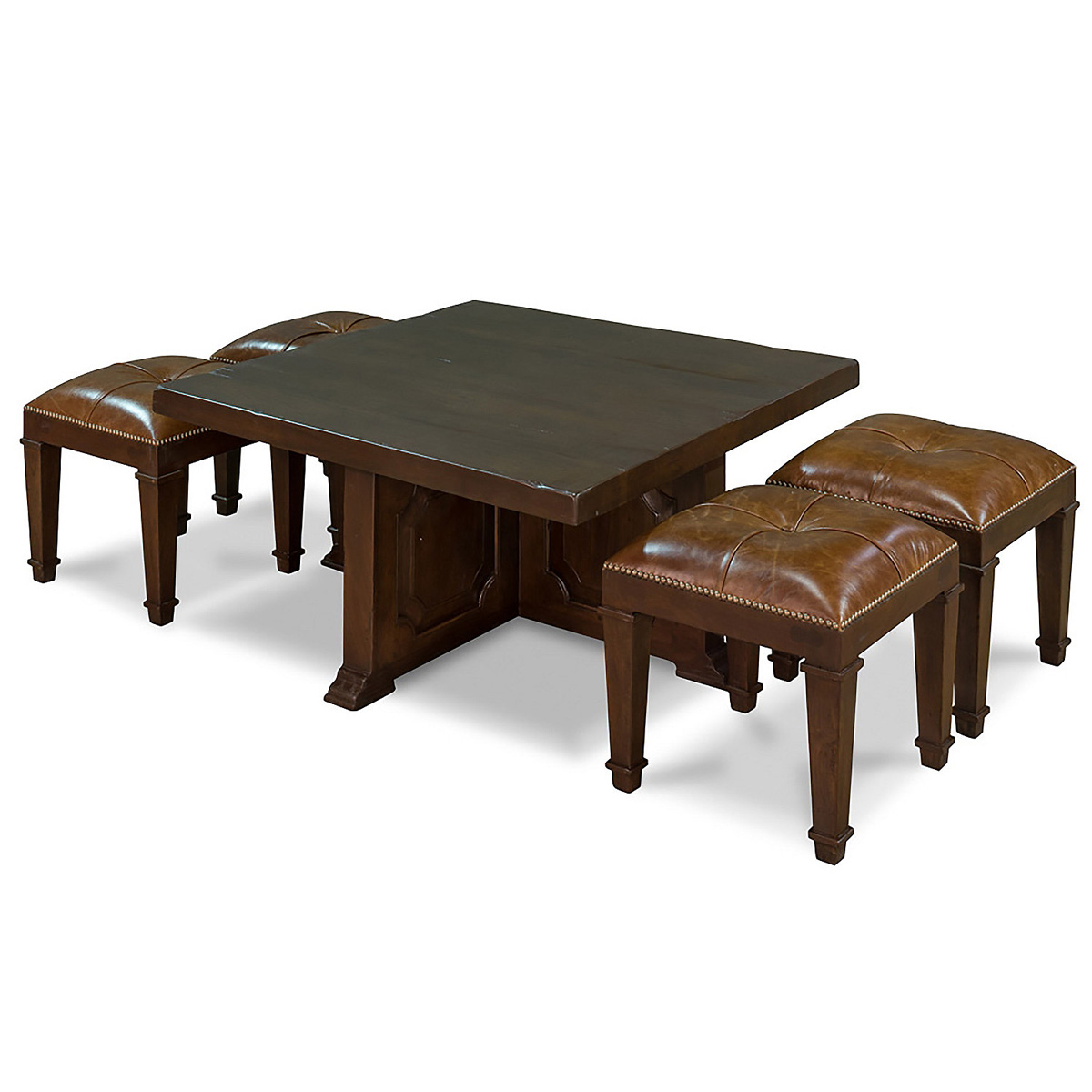 Bon Coffee Table With 4 Nesting Stools   So Thatu0027s Cool