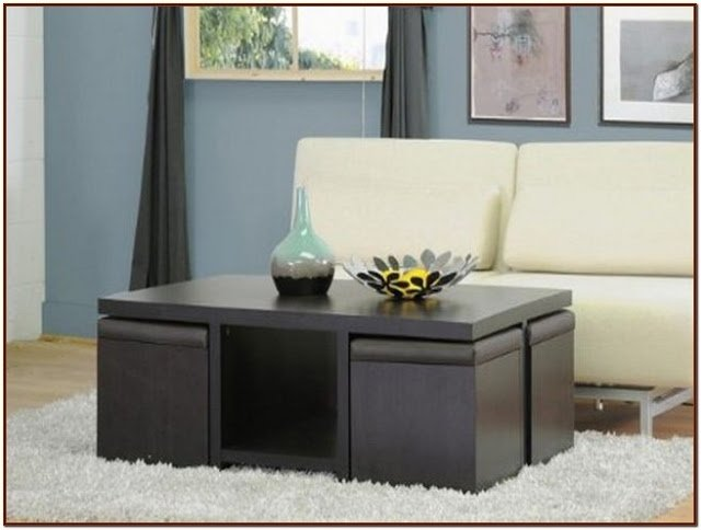 Coffee Table With Stools You Ll Love In 2021 Visualhunt