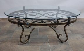 Wrought Iron Coffee Table You Ll Love In 2021 Visualhunt