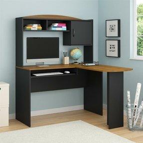 Corner Desk With Hutch - Visual Hunt