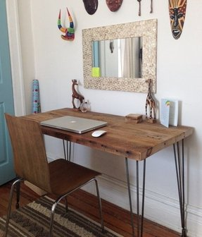 50 Reclaimed Wood Computer Desk You Ll Love In 2020