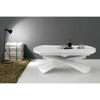 Contemporary Convertible Paris Dining Table or Coffee ...