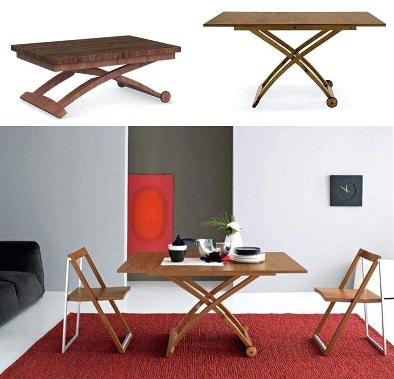 Convertible Coffee Table To Dining Visual Hunt