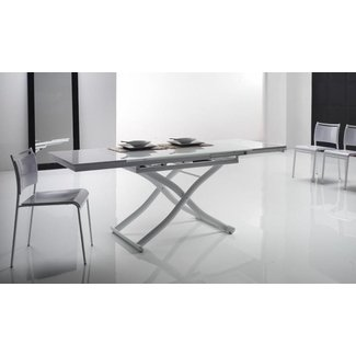 Convertible Glass Coffee Table/ Dining Table