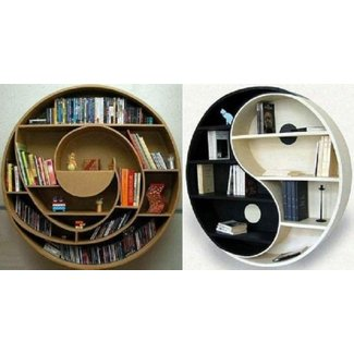 Cool designs for bookshelves! | Plush Plaza Blog