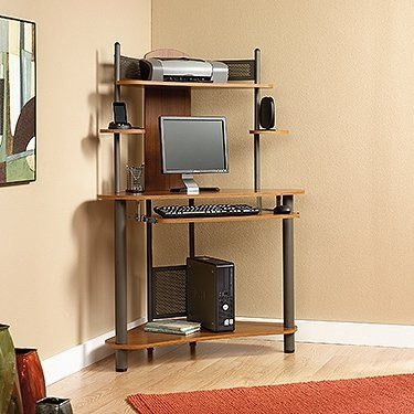 Small computer desks Oak Corner Computer Desks For Small Spaces Corner Computer Beehiveschoolcom 50 Computer Desk For Small Spaces Up To 70 Off Visual Hunt