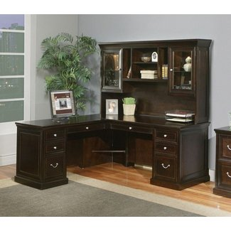 Stupendous Corner Desk With Hutch Visual Hunt Home Interior And Landscaping Ponolsignezvosmurscom