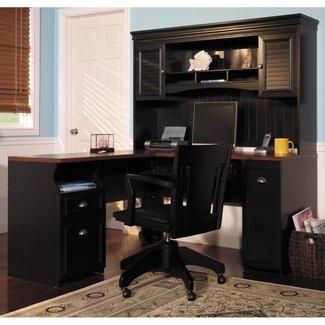 Corner Desk With Hutch Home Desk Design Corner Desk With