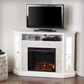 Corner Electric Fireplace Tv Stand You Ll Love In 2021 Visualhunt