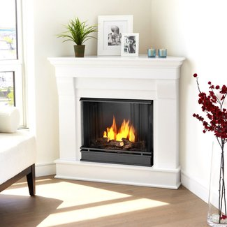CORNER FIREPLACES: CONTEMPORARY CORNER FIREPLACE PICTURES