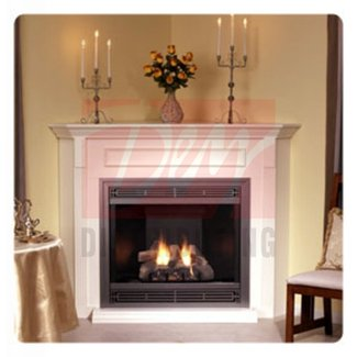 CORNER FIREPLACES: CORNER NATURAL GAS FIREPLACES