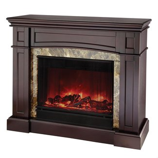 CORNER FIREPLACES: CORNER VENTLESS ELECTRIC FIREPLACE