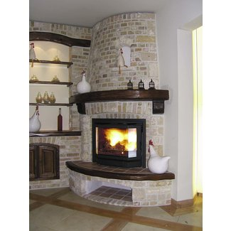 Corner Ventless Gas Fireplace Visual Hunt