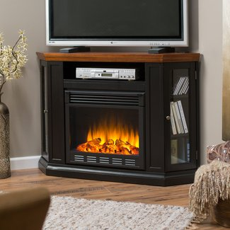 Corner Fireplaces Tv Stand. Dimplex Electric Fireplace Tv ...