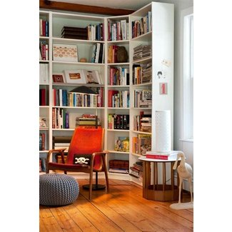 Corner shelf – 25 ideas how to use your living