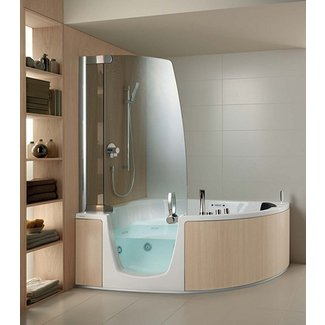 Mini Jacuzzi Bathtub.50 Corner Tubs For Small Bathrooms You Ll Love In 2020