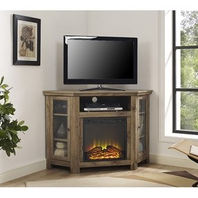 50 Corner Electric Fireplace Tv Stand