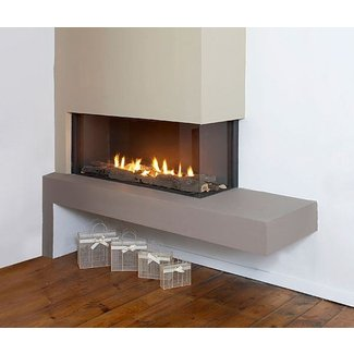 Corner Ventless Gas Fireplace - Foter
