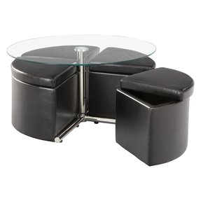 Coffee Table With Stools You Ll Love In 2020 Visualhunt