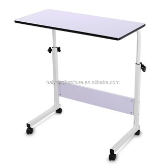 Couch Laptop Table On Wheels Lap Desk Adjustable Table For