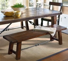 Tremendous Dining Table With Bench Visual Hunt Home Remodeling Inspirations Cosmcuboardxyz