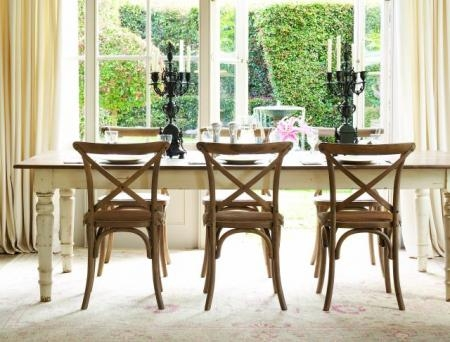 Country French Dining Table And Chairs |