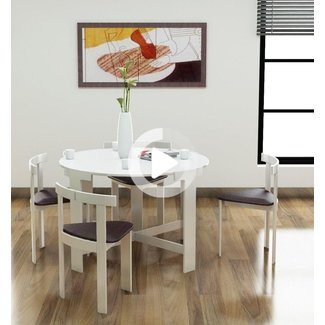 Creative space-saving folding dining room table ideas ...