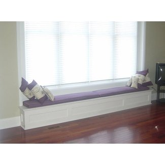 Custom Window Bench Seat with Storage | Millo Closets and