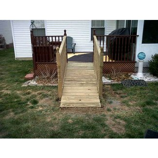 Deck Ramp For Dog images
